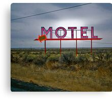 motel 2 Canvas Print