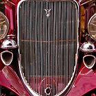 Vintage Ford Grille by TonyCrehan