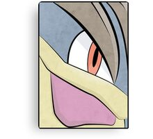Machamp - Pokemon Art Poster Minimalistic Canvas Print
