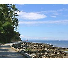 Stanley Park Seawall 1 Photographic Print