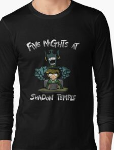 Legend Of Zelda - Five Nights At Shadow Temple Long Sleeve T-Shirt