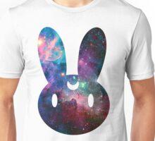 Galaxy Bunny (White Version) Unisex T-Shirt