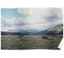 High Mountain Plain, Yosemite National Park Poster