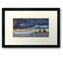 Arrival of Gloom Framed Print