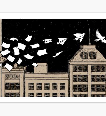 Paper Birds Sticker