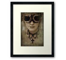 I'm not going to sit around and wait for the end of the world Framed Print