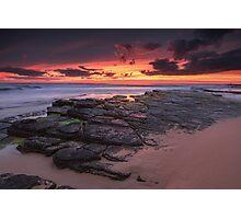 Rocky Sunrise Photographic Print