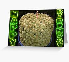Habby Birthday BudCake - Card Greeting Card