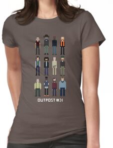 Pixel Outpost 31 Crew Womens Fitted T-Shirt