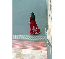 pretty dress Photographic Print