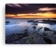"""Each Passing Moment"" ∞ Shellharbour, NSW - Australia Canvas Print"