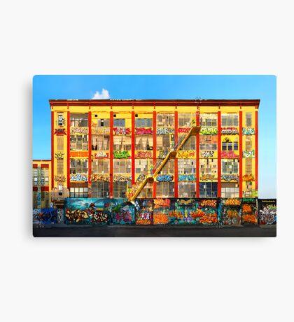 Five Pointz Graffiti Building: Queens, NYC Canvas Print