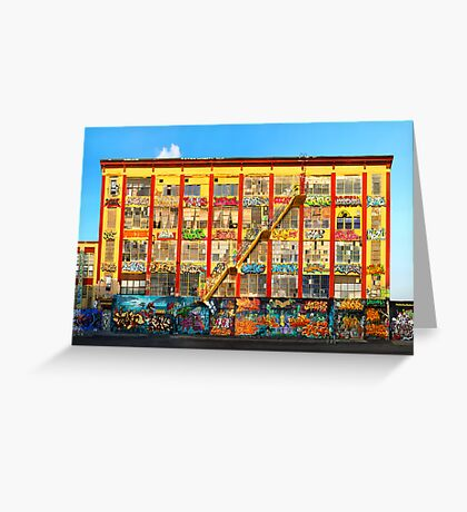 Five Pointz Graffiti Building: Queens, NYC Greeting Card
