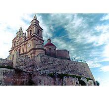 Mellieha Church, Malta Photographic Print
