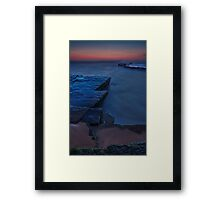 Mystery Sea Framed Print