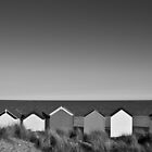 Beach Huts by Steve Taylor