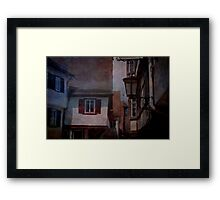 Old town in southern Germany  Framed Print