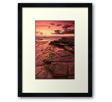Red Landing Framed Print