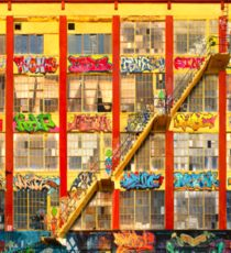 Five Pointz Graffiti Building: Queens, NYC Sticker