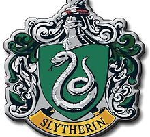 Slytherin Crest - Harry Potter by caroline33099
