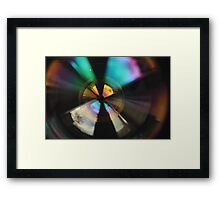 Bubble Abstract (In Synch) Framed Print