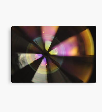 Bubble Abstract (In Synch #2) Canvas Print
