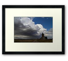 Mill by the Clouds Framed Print