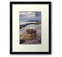 Laig Geology Framed Print