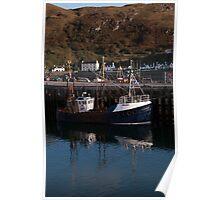 Mallaig trawler Poster