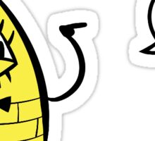Bill Cipher Sticker Sticker