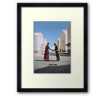 Wish You Were Here Framed Print