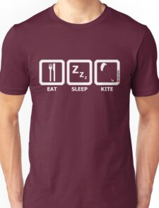 Eat Sleep Kite Unisex T-Shirt