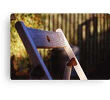 Folding Chair  Canvas Print