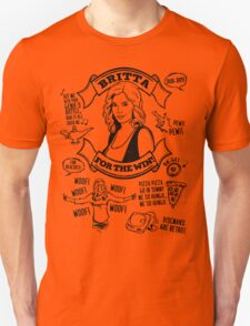 Britta For the Win Unisex T-Shirt