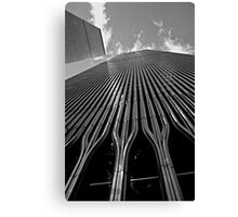 Twin Towers (Monochrome) Canvas Print