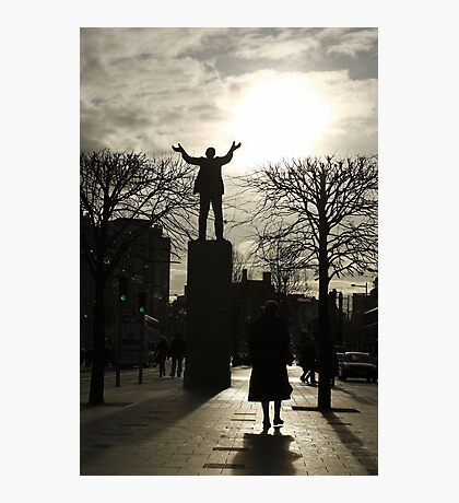 Jim Larkin at O'Connell Street Photographic Print
