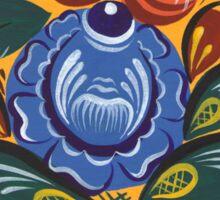 The blue flower Sticker