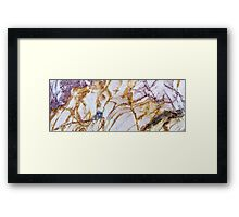 Rock Art Series - I Framed Print