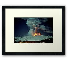 Fire in the night (RB Explore Featured) Framed Print