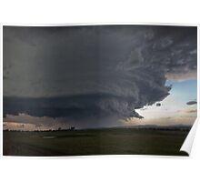 Gunnedah, Supercell thunderstorm Poster