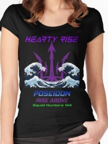 Hearty Rise Poseidon Women's Fitted Scoop T-Shirt