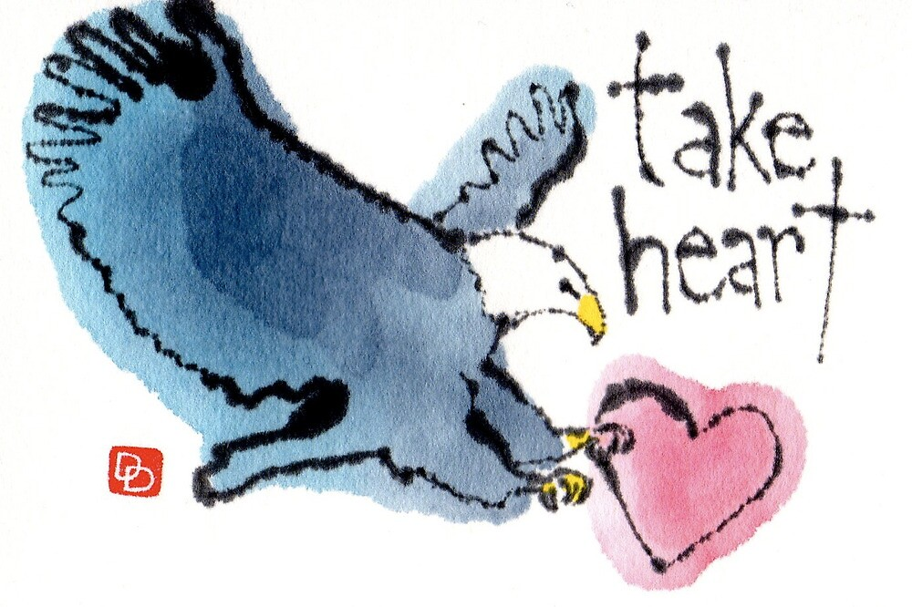 Take Heart (Eagle) by dosankodebbie