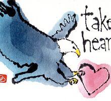 Take Heart (Eagle) by dosankodebbie