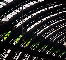 Milan train station dome by Michael Brewer