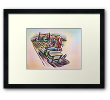 Come and see Framed Print