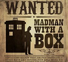 WANTED: Madman With a Box by Jacqui Frank