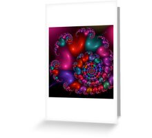 The Many Colors of Love Greeting Card