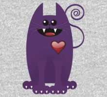 PURPLE CAT One Piece - Short Sleeve