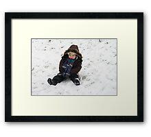 winter scene 4 Framed Print