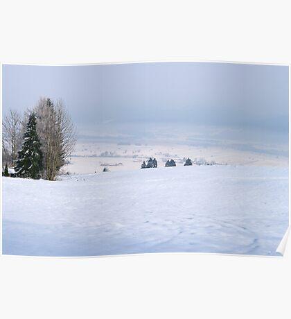 winter scene 7 Poster
